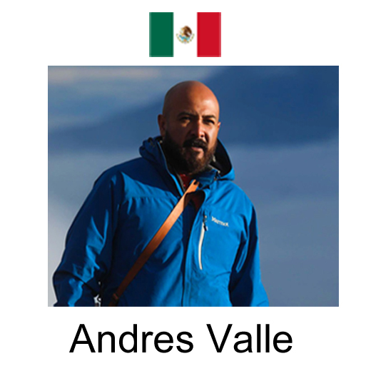 Andres Valle Kase Official Mexico Ambassador